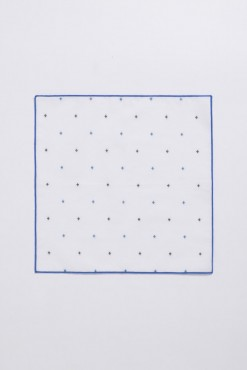 PS140004_WHITE_BLUE CROSS_HANDKERCHIEF_COTTON_KLOFFMAN_B