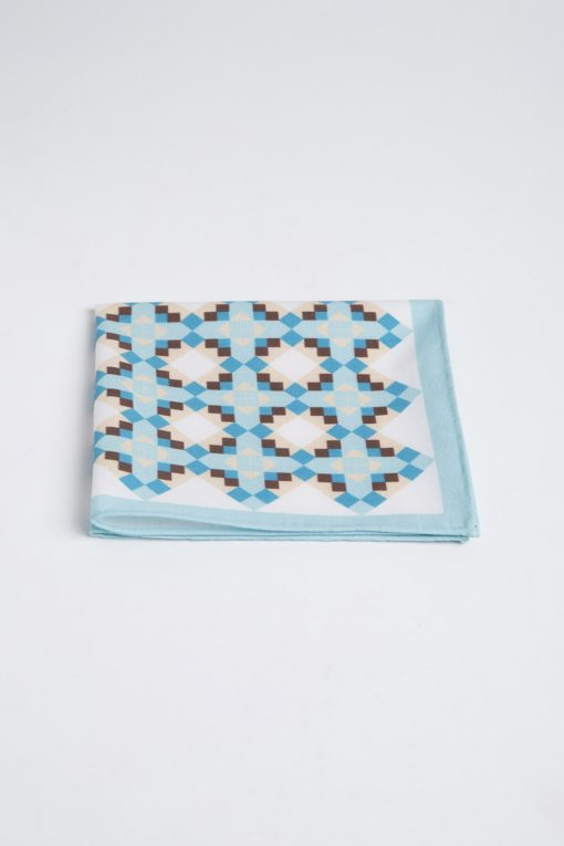 PS140008_BLUE_GEOMETRIC_HANDKERCHIEF_COTTON_PRINT_KLOFFMAN_A
