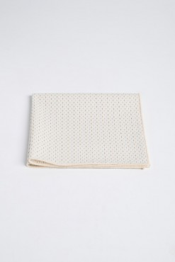 PS150015_BEIGE WITH BEIGE BROADER_POCKET SQUARE_COTTON_STITCHES_KLOFFMAN_A