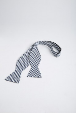 TI140009_NAVY_CHECK_BOWTIE_COTTON_KLOFFMAN_A