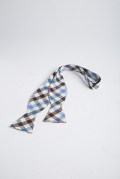 TI140010_BROWN_CHECK_BOWTIE_COTTON_KLOFFMAN_A