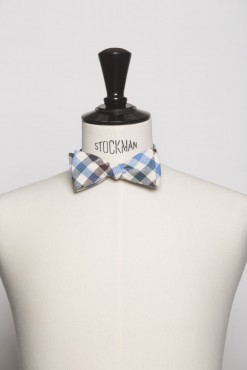 TI140010_BROWN_CHECK_BOWTIE_COTTON_KLOFFMAN_B