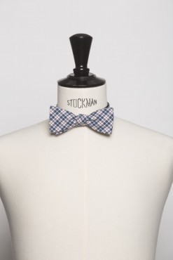 TI140011_NAVY_PLAID_BOWTIE_COTTON_KLOFFMAN_B