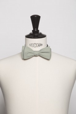 TI150018_GREEN_CHECK_BOWTIE_COTTON_KLOFFMAN_B