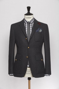 BL140001_CHARCOAL_SOLID_BLAZER_FLANNEL_GEORGE_KLOFFMAN_A