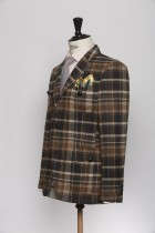 BL150004_BROWN_TARTAN CHECK_BLAZER_TWEED_CORNWALL_KLOFFMAN_C