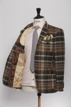 BL150004_BROWN_TARTAN CHECK_BLAZER_TWEED_CORNWALL_KLOFFMAN_D
