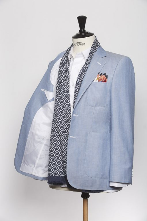 BL150008_LIGHT BLUE_HERRINGBONE_BLAZER_WOOL LINEN_GRANT_KLOFFMAN_C