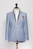 BL150008_LIGHT BLUE_HERRINGBONE_BLAZER_WOOL LINEN_KENT_KLOFFMAN_A