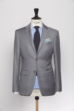SU140002_LIGHT GREY_SOLID_SUIT_WOOL_HUMPHREY_KLOFFMAN_A