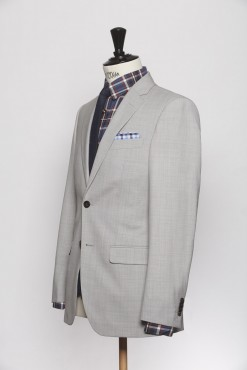 SU150014_LIGHT GREY_SOLID_SUIT_WOOL_HUMPHREY_KLOFFMAN_B
