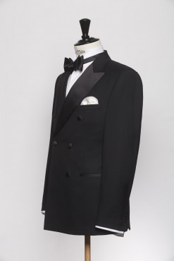 SU150017_BLACK_SOLID_SUIT_WOOL_DINNER_DOUBLE BREAST_KLOFFMAN_B