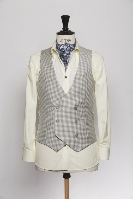 WC150006_LIGHT GREY_GUN CLUB_WAISTCOAT_WOOL_DOUBLE BREAST V_KLOFFMAN_A