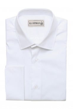 SH140001_WHITE_SOLID_FORMAL SHIRT_COTTON_REGULAR FIT_KLOFFMAN_01