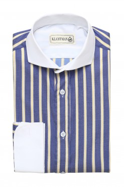 SH140008_BLUE_STRIPE_FORMAL SHIRT_COTTON_REGULAR FIT_KLOFFMAN_01