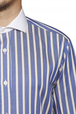 SH140008_BLUE_STRIPE_FORMAL SHIRT_COTTON_REGULAR FIT_KLOFFMAN_02