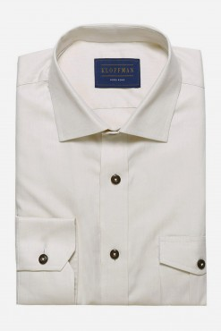 SH150033_BEIGE_SOLID_CASUAL SHIRT_COTTON_SLIM FIT_ELBOW PATCHES_KLOFFMAN_01